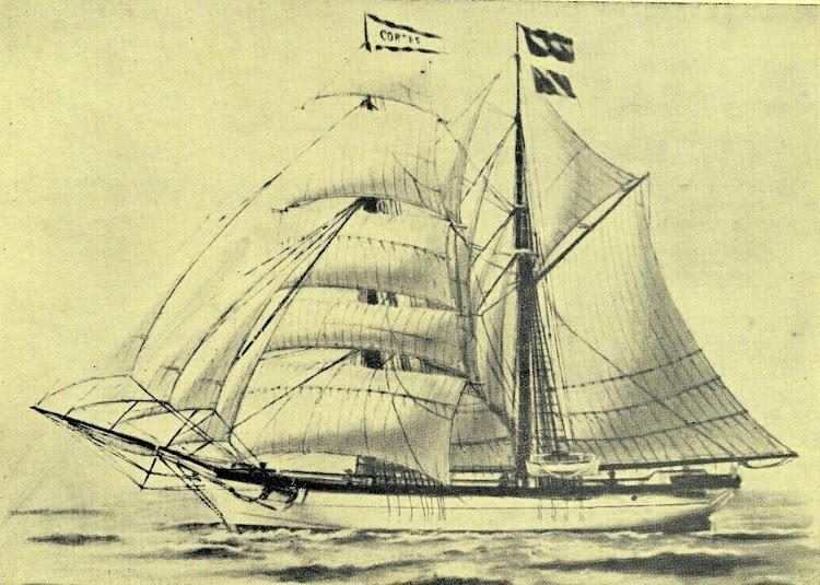 Bonito grabado de la CORTES. Del libro Apuntes para la Historia de la Marina de Vela Mallorquina de los Siglos XVIII y XIX.jpg