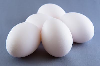 木酢液と卵