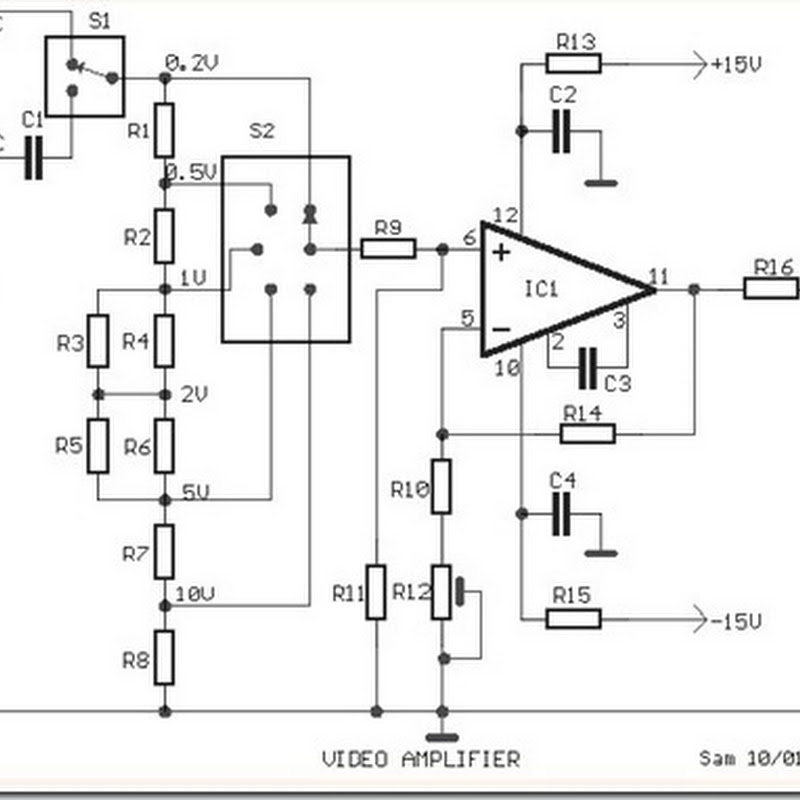 24 volt dc power supply circuit diagram schematic | Simple Schematic ...