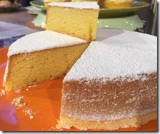 La torta paradiso di Sal De Riso