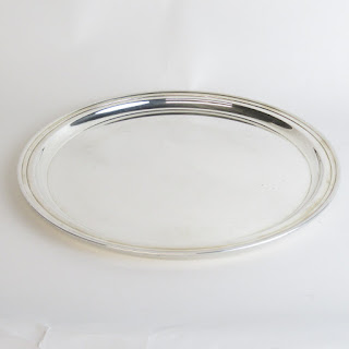 Tiffany & Co.Makers Sterling Silver Tray