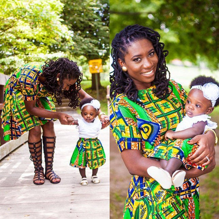 ankara clothing for children  (9)
