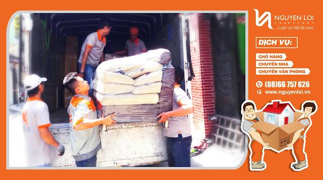 Xắp xếp hàng hóa khi chuyển nhà