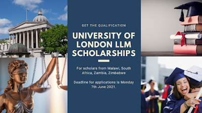 University of London LLM Scholarships