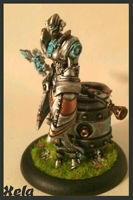 Steelsoul Protector pintada por Xela