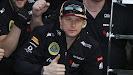 Kimi Raikkonen happy with 2nd?