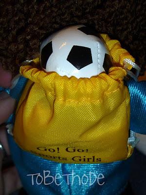 Soccer doll