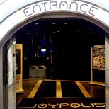 entrance to joypolis in Odaiba, Tokyo, Japan