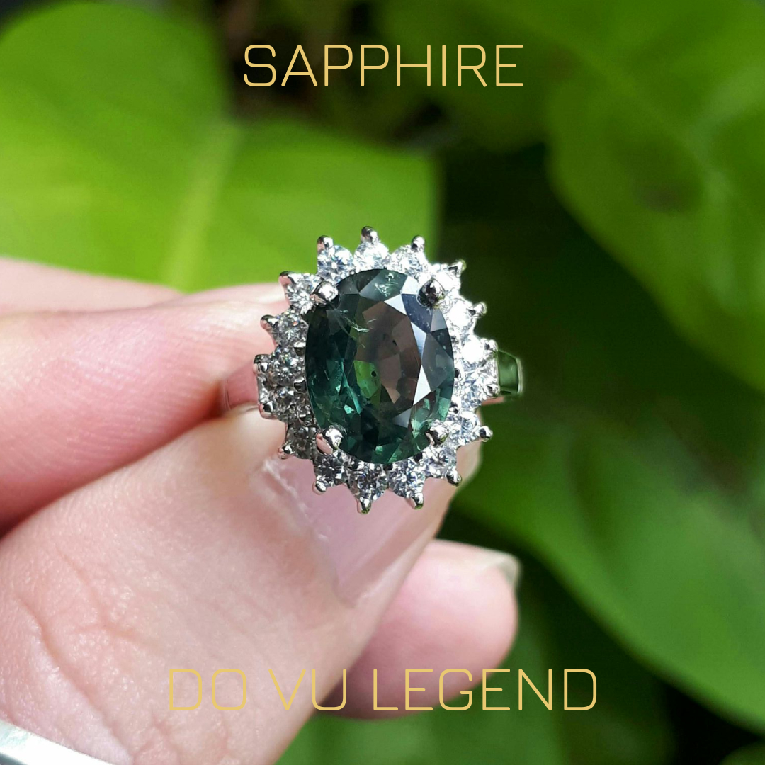 Nhẫn Sapphire nữ