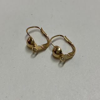 14K Hinge Earrings