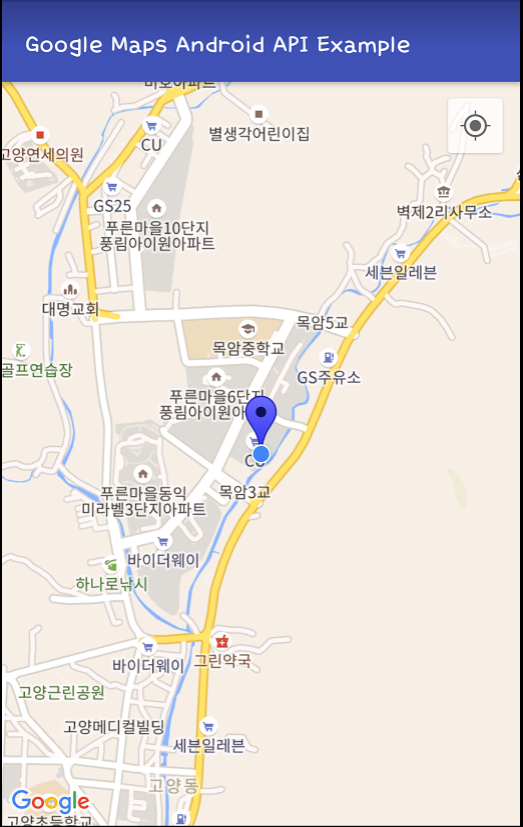 Android Google Map에 현재 위치 표시하기( GoogleApiClient