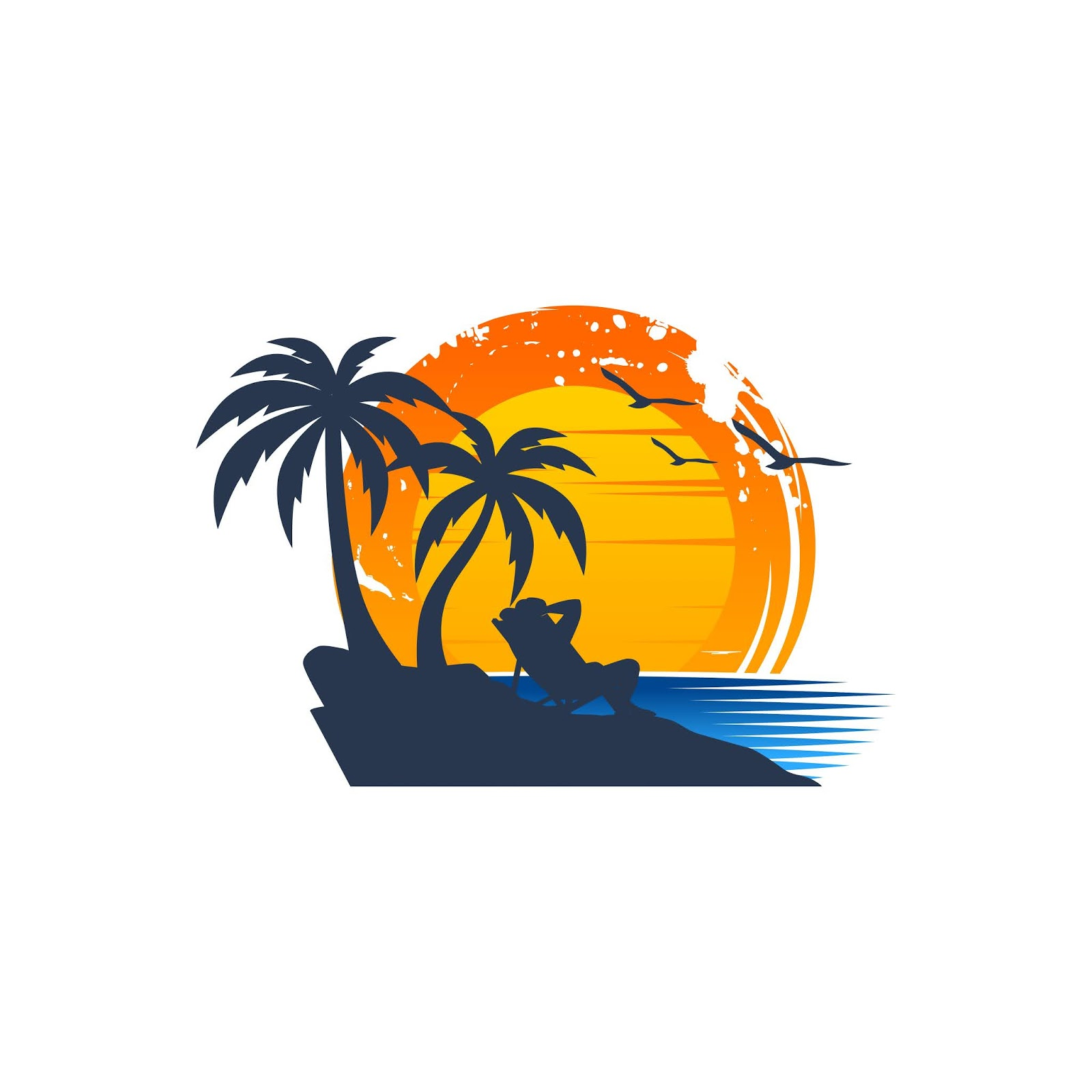 Beach Logo Cool.jpg Free Download Vector CDR, AI, EPS and PNG Formats