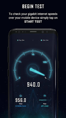 تطبيق SpeedTest