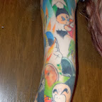 arm Krillin - tattoos for men