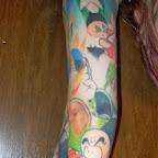 arm Krillin - tattoos for men
