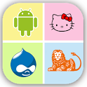 Logo Quiz -select 1 in 4 keys icon