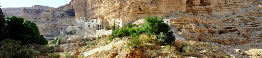 Эксурсия Иудейская пустыня Монастыри. Вади кельт Монастырь Георгия Хазевита. Гид в Израиле Фиалкова Светлана