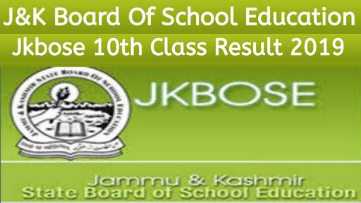 jkbose 10th class result 2019