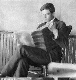 M Erickson In College, Milton Erickson