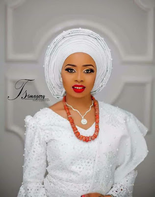 Meet Alaafin of Oyo's Youngest wife and Adorable Sons....