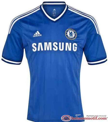 Jersey home terbaru Chelsea The Blues musim 2013 2014
