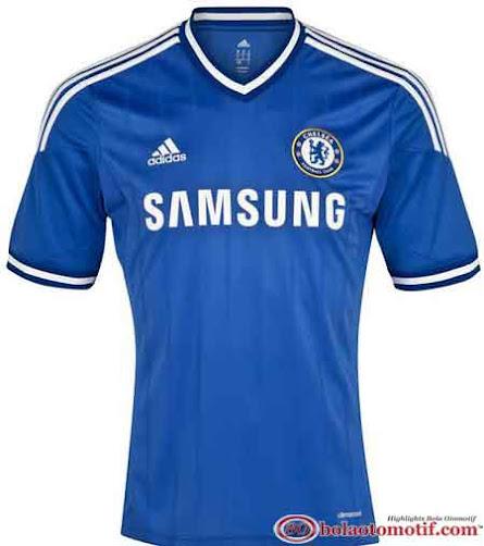 Jersey home terbaru Chelsea The Blues musim 2013 2014
