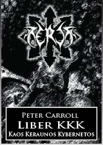 Cover of Peter Carroll's Book Liber KKK Or Kaos Keraunos Kybernetos