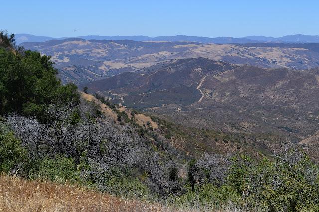 Buckhorn Canyon below