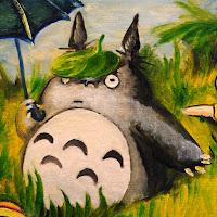 Partyng Totoro