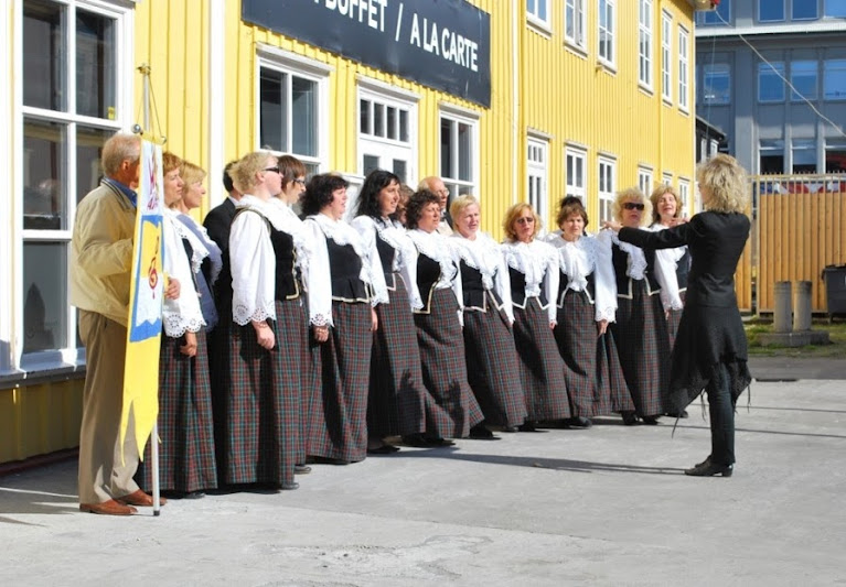 Coro islandés