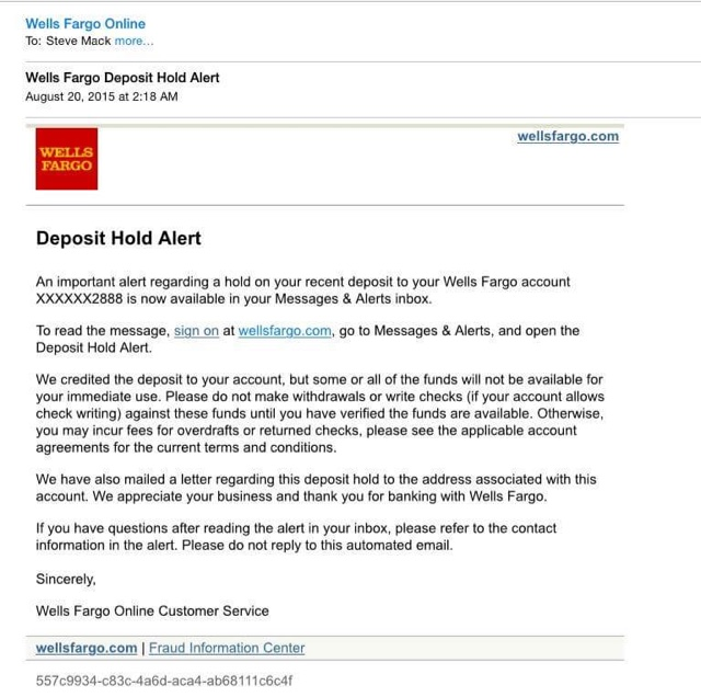 How To's Wiki 88: how to read a check wells fargo