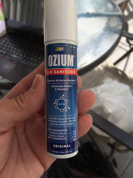 Ozium product for managing odors