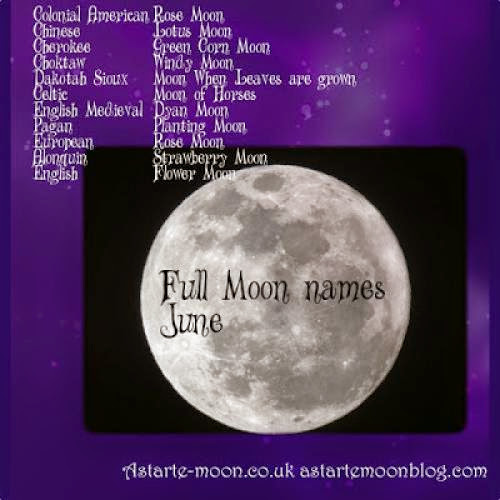 Full Moon Names For The Supermoon June 2013
