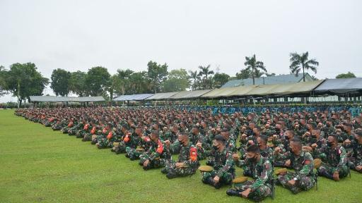 Ini Arahan Pangdam I/BB Ke Peserta Latihan Pratugas Operasi Satgas Pengamanan Daerah Rawan Maluku dan Maluku Utara Yonarhanud 11/WBY