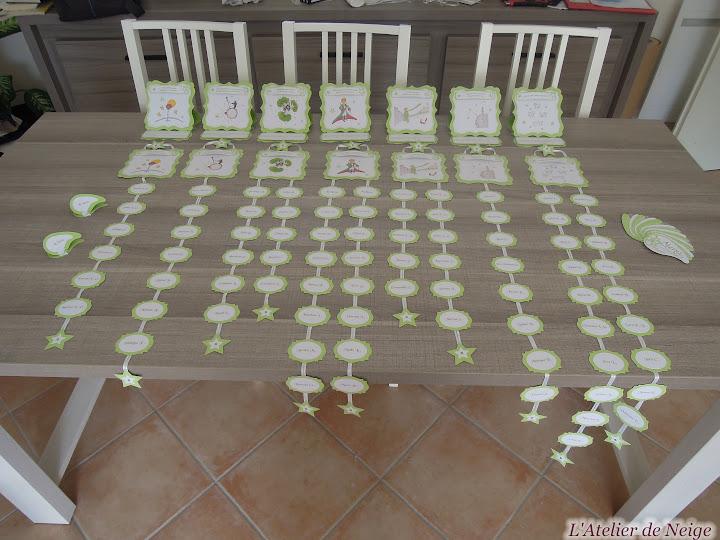 056 - Nom de Table Mariage  Nathalie et Olivier 30 juillet 2016