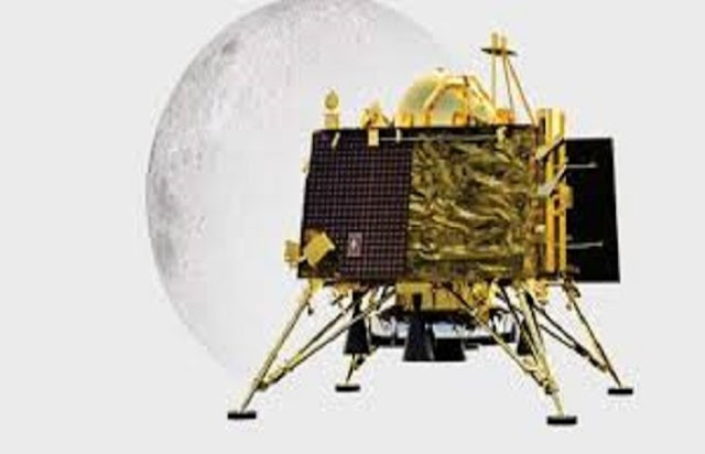 चांद पर सही-सलामत है विक्रम लैंडर, टूट-फूट नही