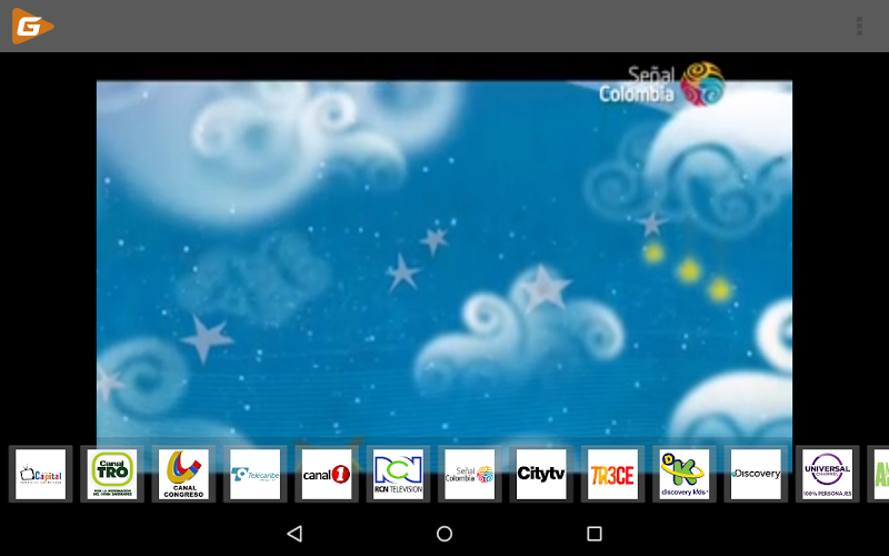 Скриншот GlobalPlay Mobile