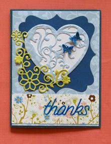 thank you card photo