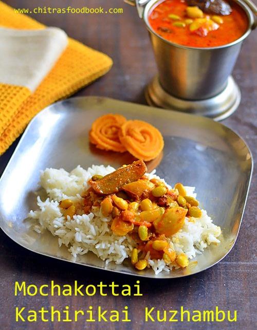Mochakottai-kathirikai-kulambu
