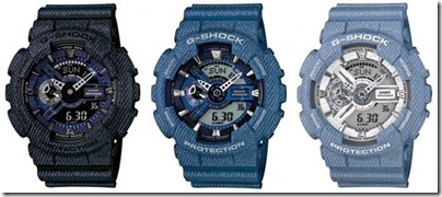 Casio G-Shock Denim' D Color Series GA-110 01