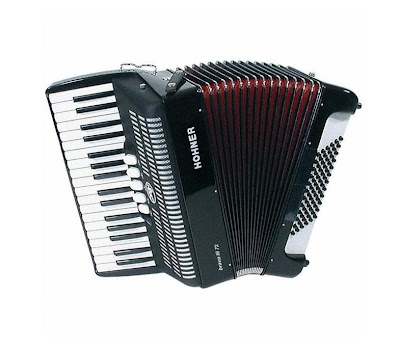 Accordeon hohner bravo III te koop
