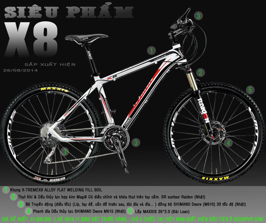 XE DAP THE THAO   XE DAP DIA HINH, xe dap the thao, xe dap trinx, xe đạp thể thao chính hãng, xe dap asama, TRINX%2BX8
