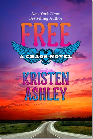 Cover Reveal: Free (Chaos #6) by Kristen Ashley | About That Story