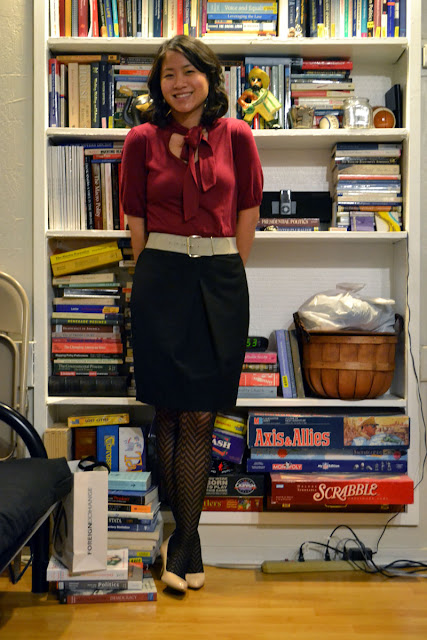 sacramento office fashion blogger angeline evans the new professional business casual target top limited skirt enzo angiolini shoes