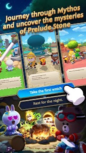 LINE BROWN STORIES : Multiplayer Online RPG Apk Download For Android and Iphone 3