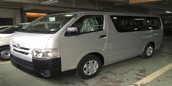 Toyota Commuter Van For Rent in Cebu (Cebu Rent A Van)