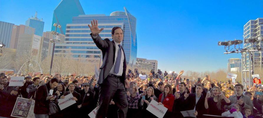 Rubio slams 'con artist' Trump