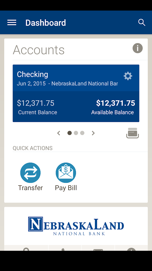 NebraskaLand National Bank- screenshot