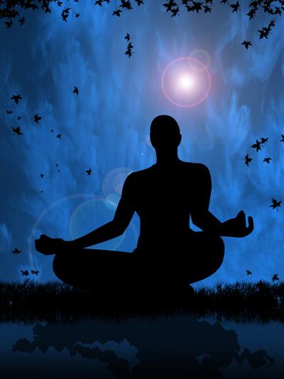 Meditation At Night, Yoga And Meditation