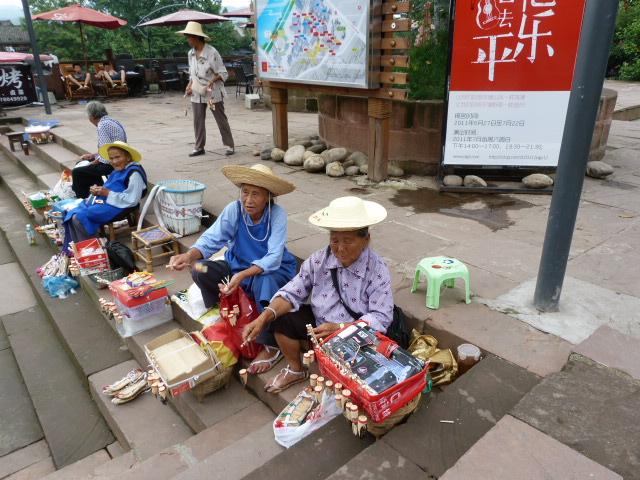 CHINE.SICHUAN.PING LE à 2 heures de Chengdu. Ravissant .Vallée des bambous - P1070564.JPG